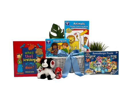 Busy bee gift basket