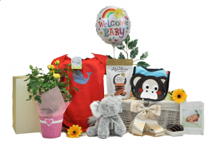 Blooming Baby Gift Basket