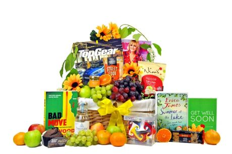 Get Well Boredom Buster Gift Basket