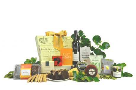 Happy Anniversary Irish Cheese & Wine Gift