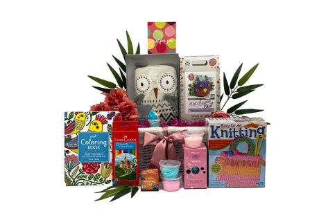 Craft and Create Girl Gift Basket Age 10+