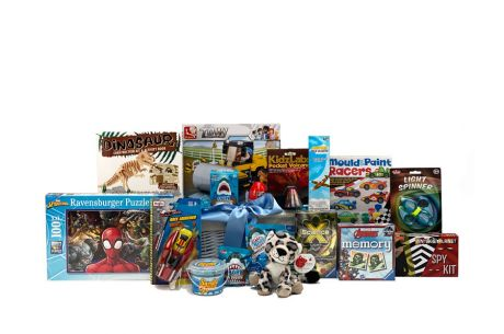 Fantastic Fun Boy Gift Basket Age 6-8