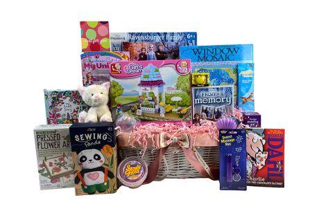 Fantastic Fun Girl Gift Basket Age 6-8