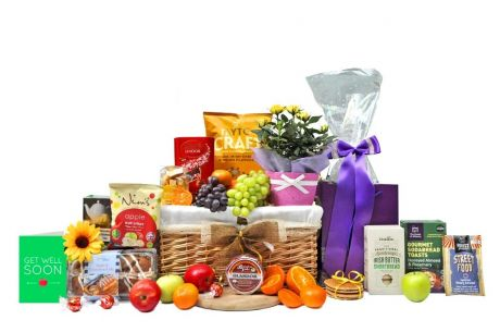 Get Well Flowers To Say Gift Basket