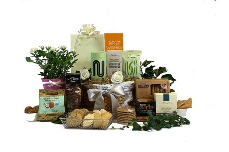 Flowers Tea & Biscuits Gift Hamper