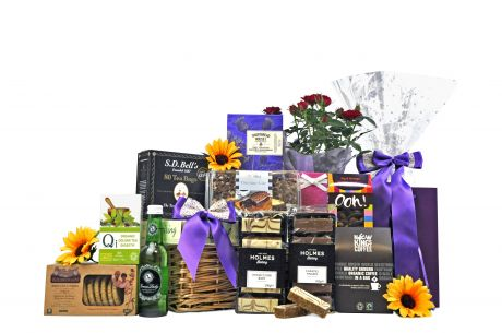 Flowers Tea & Coffee Gift Hamper