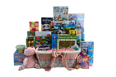 Fun Favourites Gift Basket for Girls Age 5-7