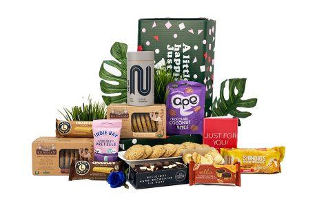 Winter Gold Gift Box