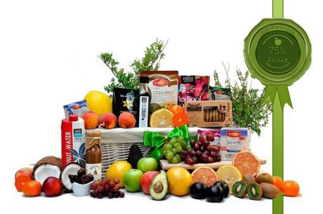 Healthy But Nice Fruit Basket