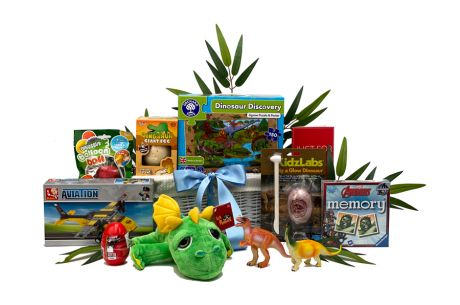 Jurassic Adventure Gift Basket Age 5-7