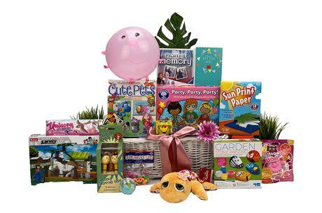 Make And Play Girls Gift Basket Age 5-7