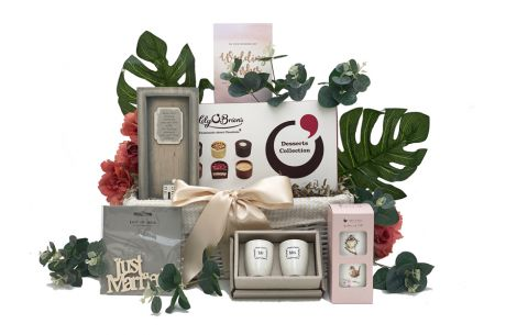 Mr And Mrs Gift Basket
