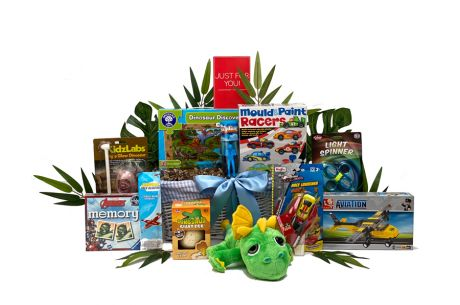 Prehistoric Playtime Boys Gift Basket Age 5-7