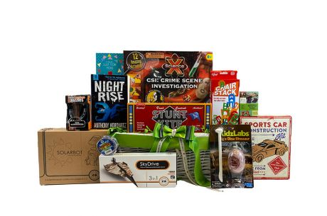Science and Discovery Boy Gift Basket Age 10+