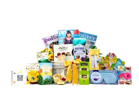 Take It Easy Gift Basket For Her