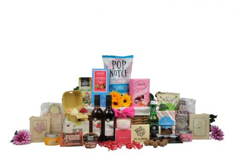 the exceptionally outspoken gift basket.