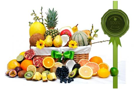 Fruit Oasis Gift Basket