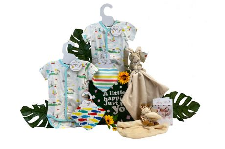 Twins Neutral Baby Gift Box