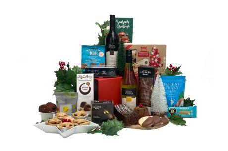 Christmas Earth Gift Basket