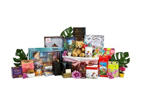 Get Well Warmer Gift Basket