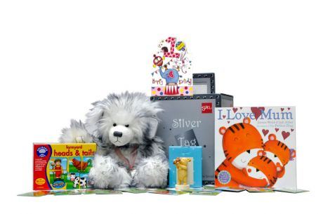 You're One Today Birthday Girl Gift Basket