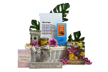 Wedding Blossom Gift Basket