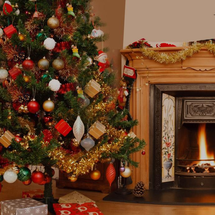 It's a Covid Christmas